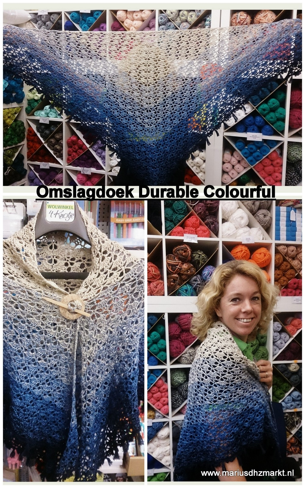 omslagdoek Durable Colourful